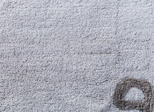 Close up of carpet texture Royalty Free Stock Photography