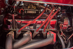 Close up of cars engine Royalty Free Stock Image