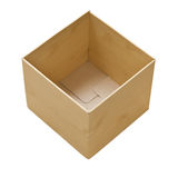 Close up of carton box Stock Images