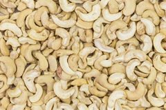 Close up Cashews Royalty Free Stock Images