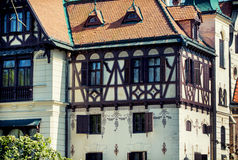Close up of the Castle Lesna Royalty Free Stock Image