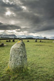 Close up of Castlerigg Neolithic Stone Circle Royalty Free Stock Photos