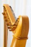 Close-up celta da harpa com ângulo Fotografia de Stock
