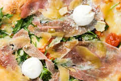 Pizza Close Up Stock Images
