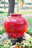 Close up ceramic basin. Beautiful Royalty Free Stock Images