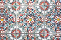 Close up of ceramics tiles Stock Image