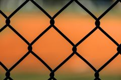 Close Up Chain Link Fence Royalty Free Stock Images