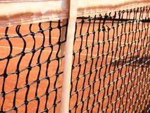 Close-up of Chainlink Fence Against Sky royalty free stock images