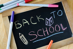 Close up chalkboard Royalty Free Stock Images