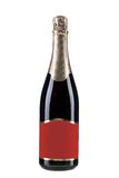 Close up of champagne bottle. Stock Photography