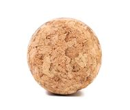 Close up of champagne cork. Royalty Free Stock Images