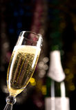 Close-up of champagne glass royalty free stock photos