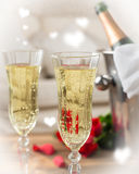 Close Up Of Champagne Stock Image