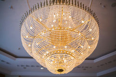 Close up of chandelier Royalty Free Stock Photos