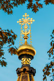 Close up Chapel-tomb of Paskevich in Gomel Royalty Free Stock Images