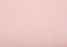 Close up on checkered tablecloth fabric. Royalty Free Stock Photos