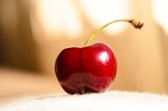 Close up of cherry Stock Photo