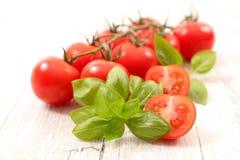 Cherry tomato. Close up on cherry tomato stock images