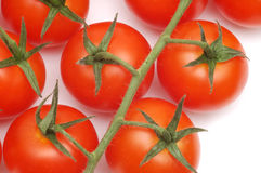 Close-up of cherry-tomatoes Royalty Free Stock Photo