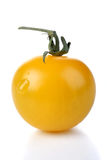 Close up of cherry yellow tomato Royalty Free Stock Photo