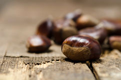 Close up of chestnuts Stock Image