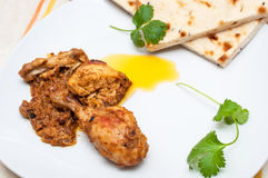 Close up of chicken curry Royalty Free Stock Images