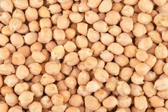 Close up of chickpea Stock Photo