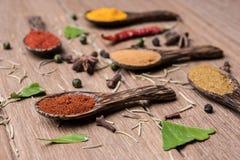 Close up chiili powder Stock Photos