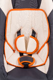 Close up of child car seat. Royalty Free Stock Photo