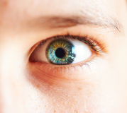 Close-up child eye Royalty Free Stock Photo