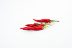 Close up of chili peppers Royalty Free Stock Image