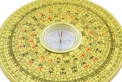 Close up chinês do compasso imagem de stock royalty free