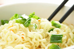 Close up china noodle Royalty Free Stock Photo