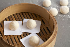 Close up chinese bun Stock Image