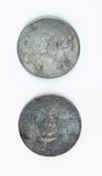 Close-up of chinese coin Stock Image