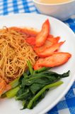Close up of Chinese delicacy Royalty Free Stock Photo