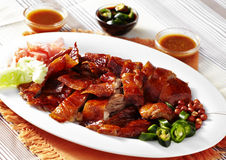 Close up chinese duck roasted Stock Image