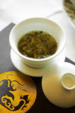 Close up chinese hot tea Stock Images