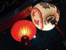 Close-up Chinese lantern royalty free stock photography