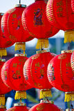 Close-up  chinese lanterns for chinese new year Royalty Free Stock Image