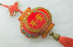 Close-up of Chinese New Year toy Stock Photography