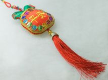 Close-up of Chinese New Year toy Royalty Free Stock Photos
