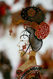 Close up of Chinese Shadow Puppet Stock Photos