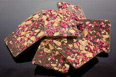 Close up of Chocolate Stock Photography