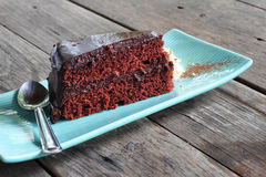 Close up chocolate cake Royalty Free Stock Photography