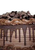 Close-up of Chocolate Cake Royalty Free Stock Photography