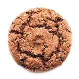 Close up of chocolate cookie Royalty Free Stock Photography