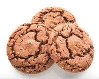 Close up of chocolate cookies Stock Images