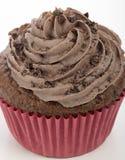 Close-up Chocolate Cupcake Stock Images