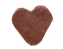 Close up of chocolate heart shape Stock Photo